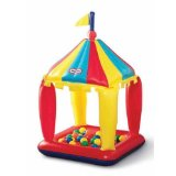 little tikes inflatable carnival play center